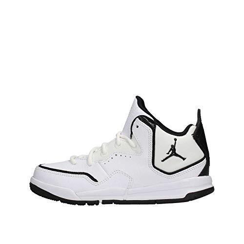 Sportive Jordan Mid Bianco Courtside 100 Nike Scarpe Bimbo Aq7734 Pelle 23 d8THnqtxW