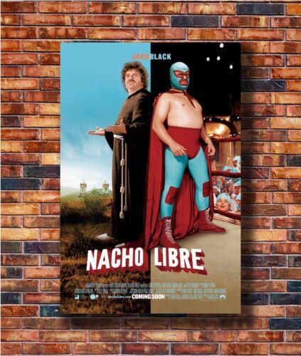 14x21 24x36 Art Gift X-2035 New NACHO LIBRE MOVIE 2 Sided ORIGINAL INTL Poster