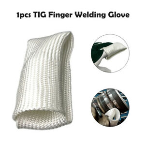 150mm TIG Finger Weld Monger Schutz Hitzeschild Sicherheit Schweißhandschuhe Neu
