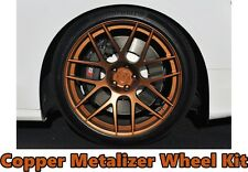 Performix Plasti Dip Rim Wheel Kit 4 Matte Black 3 Copper Metalizer Aerosol Cans