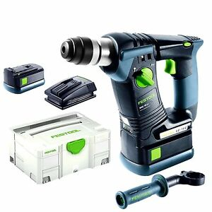 cordless rotary sds hammer drill akku bohrhammer festool bhc18li 5 2 plus 574720 ebay. Black Bedroom Furniture Sets. Home Design Ideas