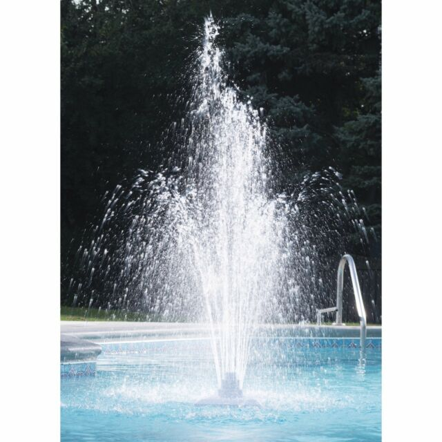 Swimming Pool Fountain Spa Waterfall Adjustable Water Spray Garden Pools  Decor