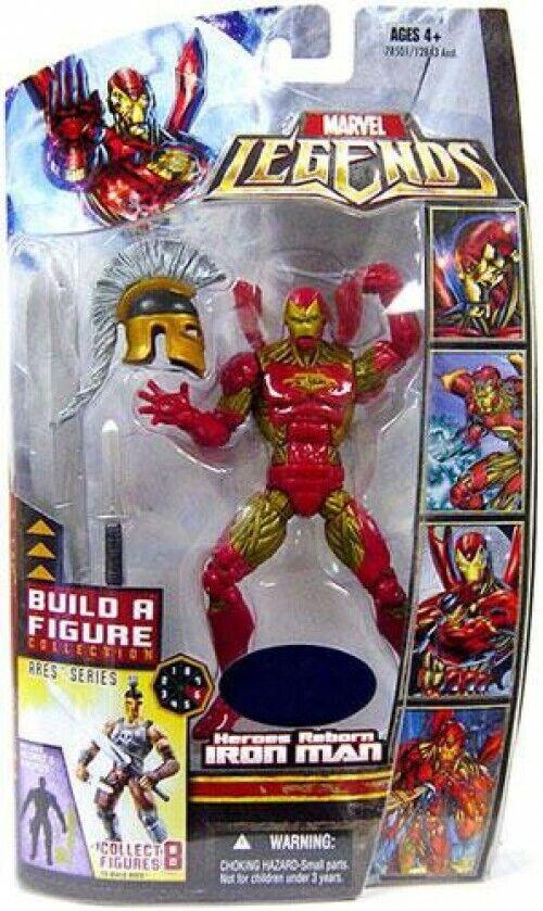 Marvel Legends Ares Build a Figure Heroes Reborn Iron Man Action Figure
