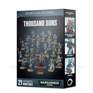 Start-Collecting-Thousand-Sons-Warhammer-40k-Brand-New-70-55