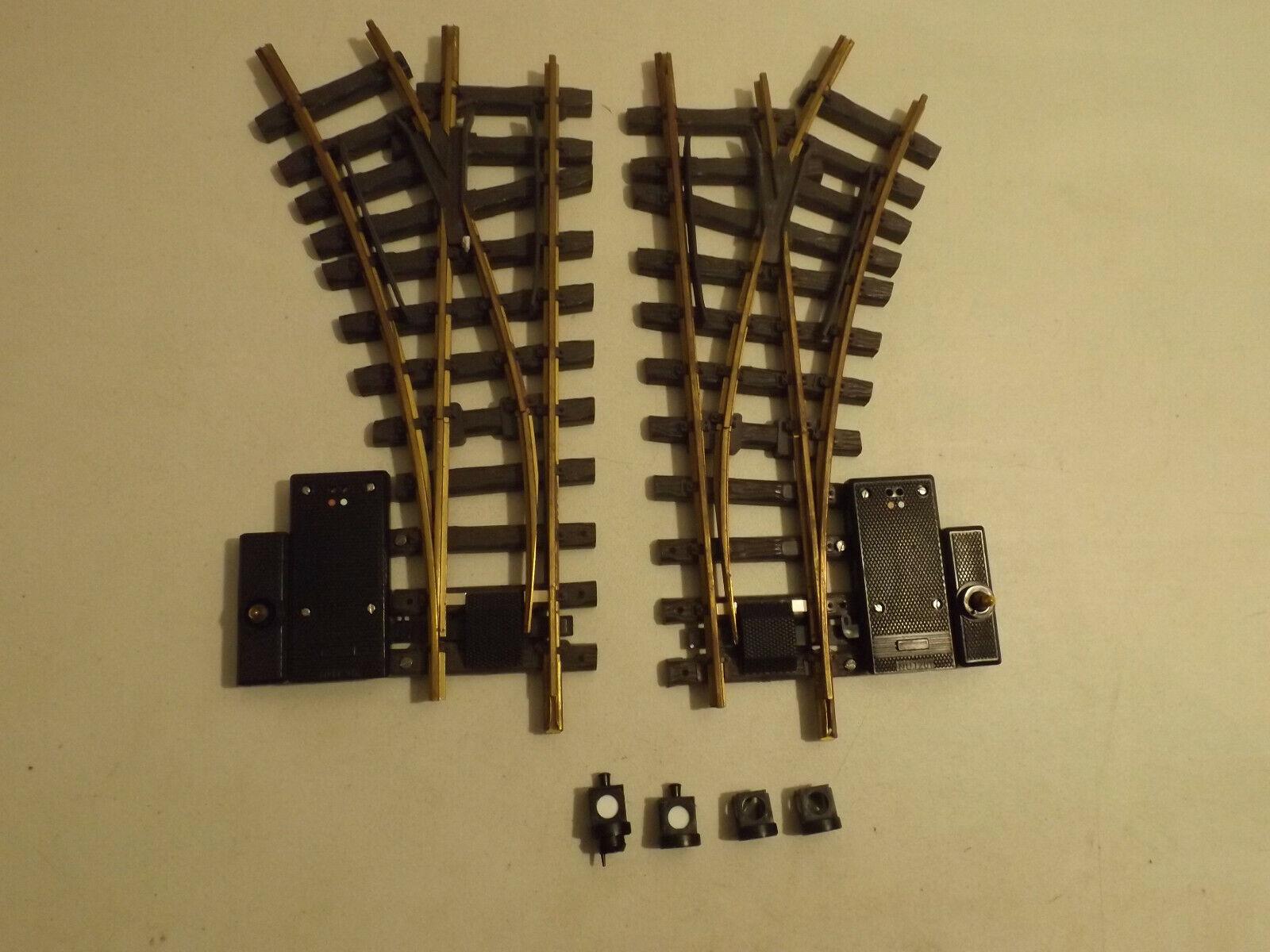 2 g Gauge LGB Remote Switch  1210 LH & RH  1200 LOTTO GS9