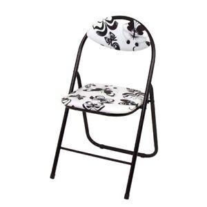 Metal Chaise Pliante Papillon Pliable Chaise Neuf Visiteur