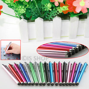 Touch-Screen-Stylus-Pen-Capacitive-Aluminium-For-Apple-iPhone-5-6S-Samsung-HTC