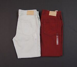 TOMMY-HILFIGER-Men-Cotton-Straight-Leg-Colored-Jeans-NEW-NWT