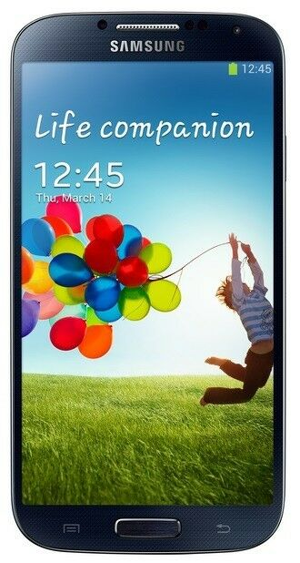 New Samsung Galaxy S4 i9500 16GB 13MP Unlocked Android Smartphone Black or White