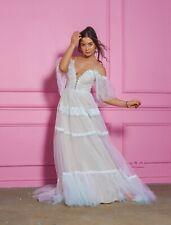 Boho bohemian rustic Lace vintage simple modest wedding dress Plus size bridal