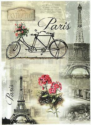 Rice Paper for Decoupage Decopatch Scrapbook Craft Sheet Parisian Still Life