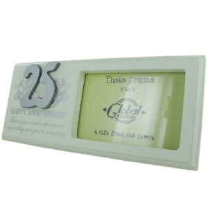 Photo-Frame-25th-Anniversary-Silver-Wedding-Gift-Parents-Grandparents-Gift-F0749