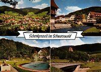 Schenkenzell im Schwarzwald , Ansichtskarte,  gelaufen