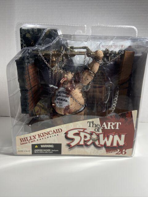 McFarlane Art of Spawn Series 26 Issue 5 Art Exclusive Billy Kincaid Figure