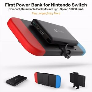 Power Bank Charger >> Details About 10000mah External Back Power Bank Battery Charger Portable For Nintendo Switch