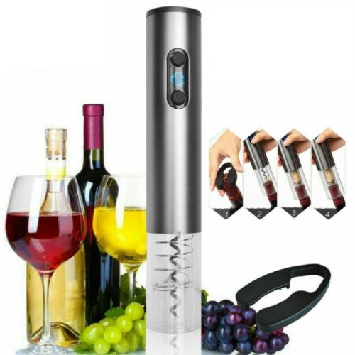 Electric Wine Opener with Automatic Corkscrew Foil Cork Remover for Bottles Box