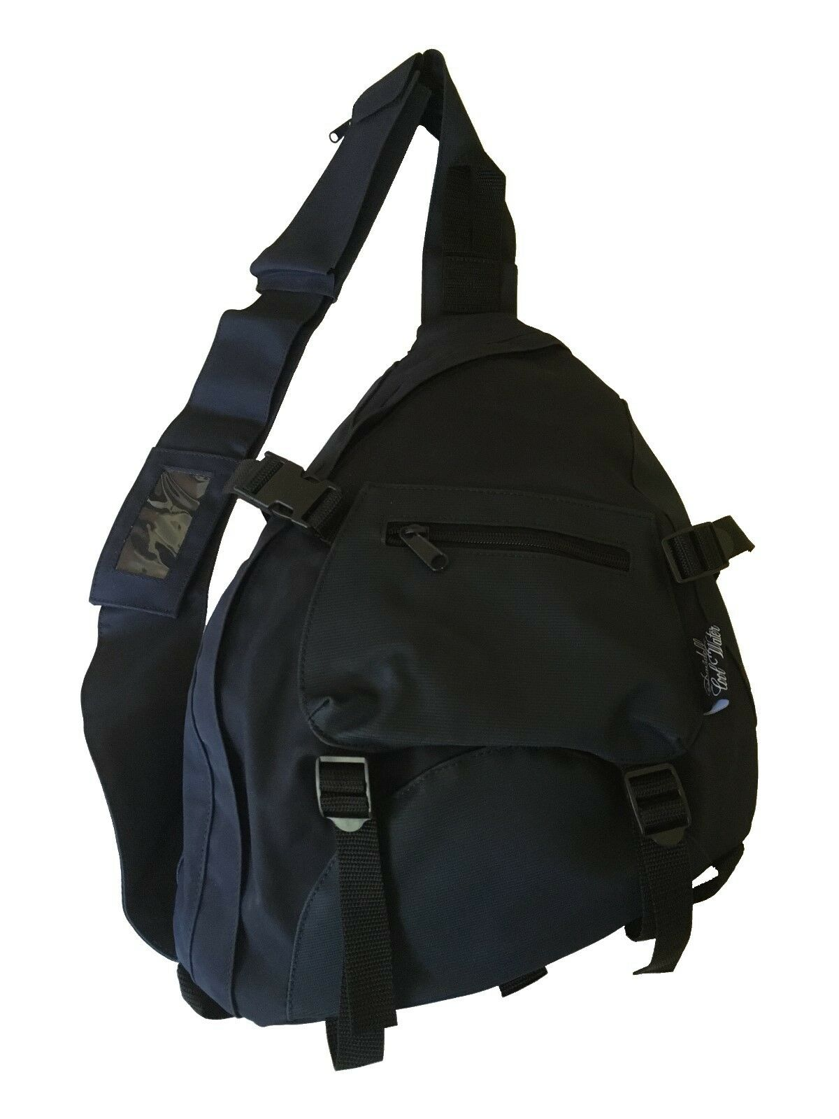 Davidoff Cool Water Shoulder Sport Travel School Bag Dark bluee