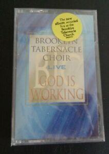 BROOKLYN TABERNACLE CHOIR Live God Is Working Cassette Tape NEW Gospel 2000