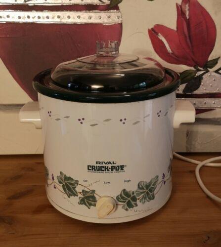 Crock-pot slow cooker 3,0 Liter - the original Rival Modell 3100VS
