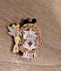 DISNEY-PIN-Tinkerbell-039-s-Trinkets-Birthstone-Collection-2013-April