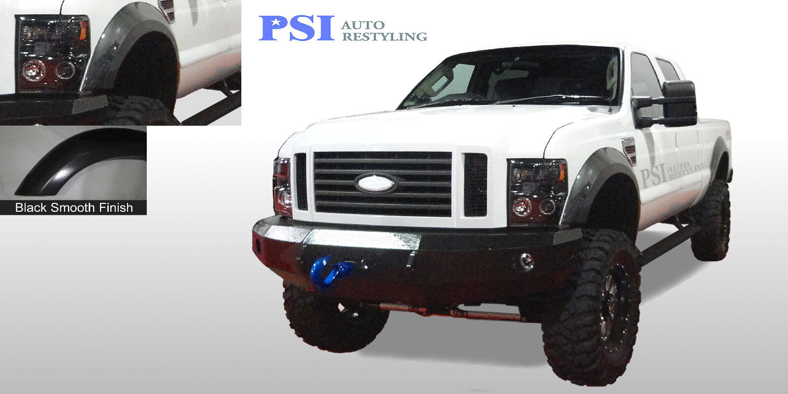 08 10 F250 F350 Truck Extension Style Fender Flares Wheel