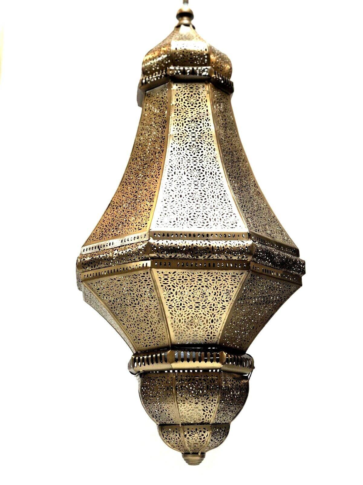 MGoldccan Lamp Style Pendant Metal Ceiling Light Hanging Lantern Lamp Zenda Imp.