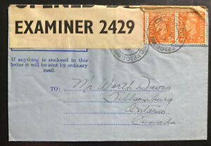 1943 Canadian Field Post Overseas Air Letter Cover To Tillsonsburg Canada