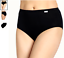 thumbnail 2 - Jockey 3-Pack Elance Briefs ( Black) 100% Cotton Comfort Classic Underwear