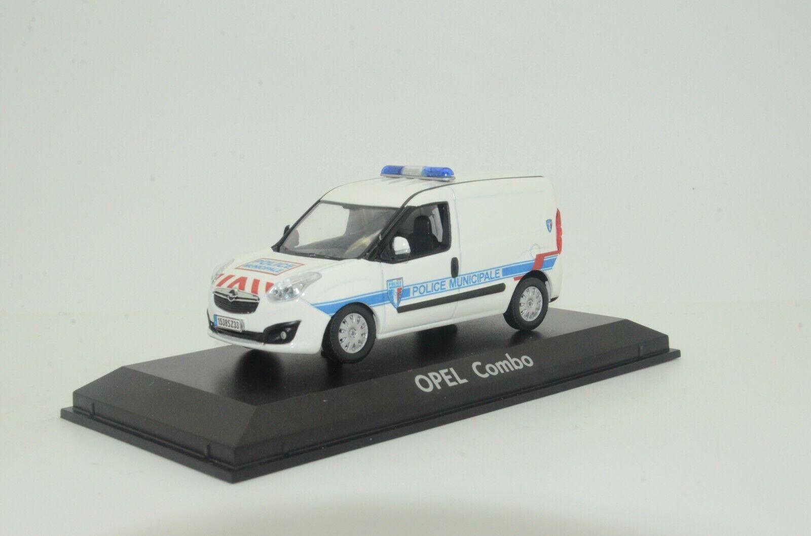 barato      rara    Opel Combo Francia policía emitida Hecho a Medida 1 43  alta calidad