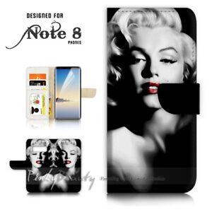 For-Samsung-S10e-Wallet-Flip-Case-Cover-P21326-Marilyn-Monroe