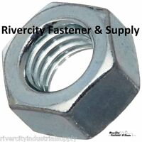 (25) M6-1.0 Or 6mm Metric Hex Nuts Class 10 Zinc Plated Din 934