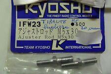 KYOSHO TIRANTE M5 LUNGHEZZA 30 MM ADJUSTER ROD M5 LENGTH 30 MM  ART IFW23