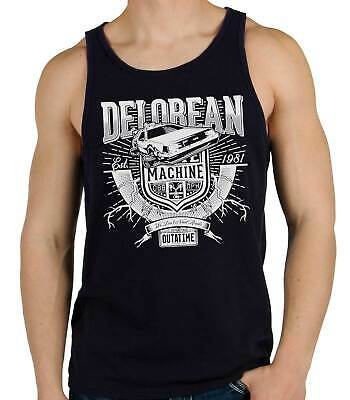 Camiseta Hombre Tirantes Delorean Machine Out A Time  sleeveless shirt man