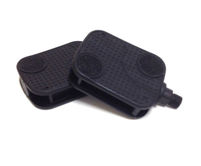 Bicycle Pedals Sunlite Cruiser Barefoot 1//2 Black Bike Replacement Part for sale online