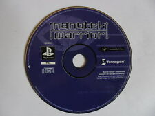 NANOTEK WARRIOR - SONY PLAYSTATION - JEU SEUL PS1 PS2