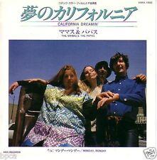 """MINT NEW 7"""" JAPAN Canadian Denny Doherty MAMAS & PAPAS CALIFORNIA DREAMIN+MONDAY"""