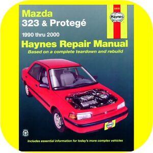 Repair Manual Book    Mazda       323    and Protege 9000 Owners   eBay