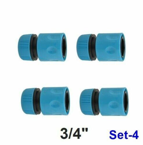 Set. Stecksystem Schlauchkupplung Wasserstop Schlauchverbinder Schnellkupplung