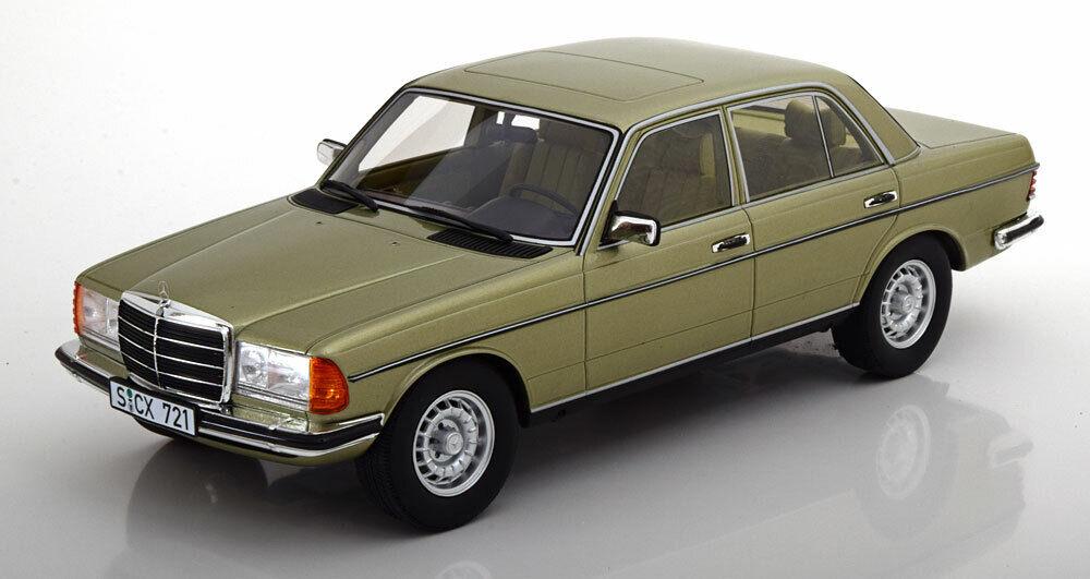 Cult Models 1976 Mercedes Benz 280e W123 Berline Vert Clair Métal 1 18 Le300