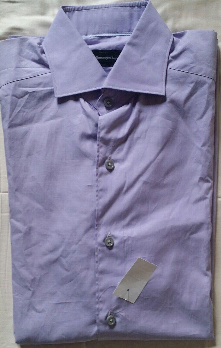 Brand New Ermenegildo Zegna Men Classic Fit Shirt