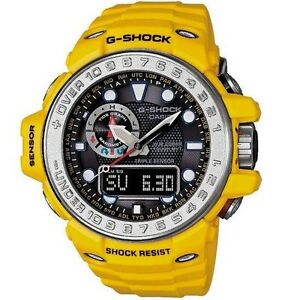 Casio-G-Shock-GWN1000-9A-Gulfmaster-Yellow-Triple-Sensor-Watch-COD-PayPal