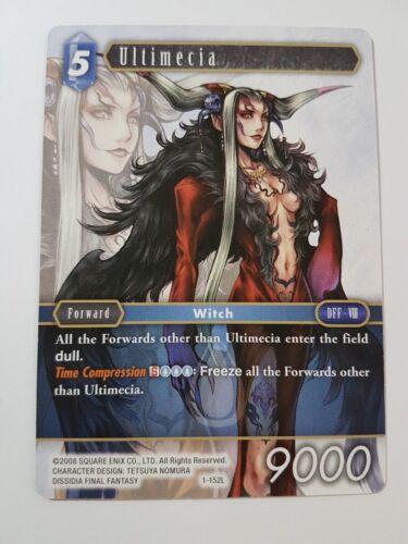 Legendary OPUS 1 Ultimecia 1-152L Final Fantasy TCG