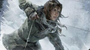 Image Is Loading Poster Rise Of The Tomb Raider Lara Croft