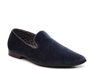 Giorgio Brutini Chatwal Men/'s Slip-On Loafer Navy Velour Dress Shoes 176273