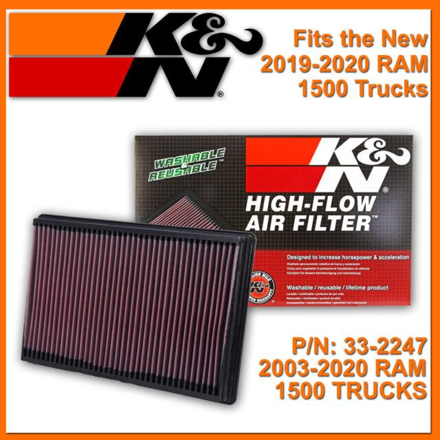 KN AIR FILTER 33-5000 REPLACEMENT HIGH FLOW FILTRATION