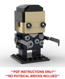 Lego brickheadz-Disney Aladdin Genie-MOC création-PDF Instructions uniquement