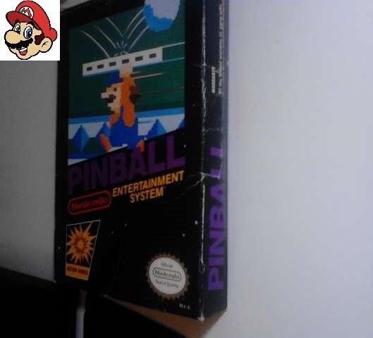 Juego Pinball Nintendo Nes NTSC 1985 (Leer descripción)