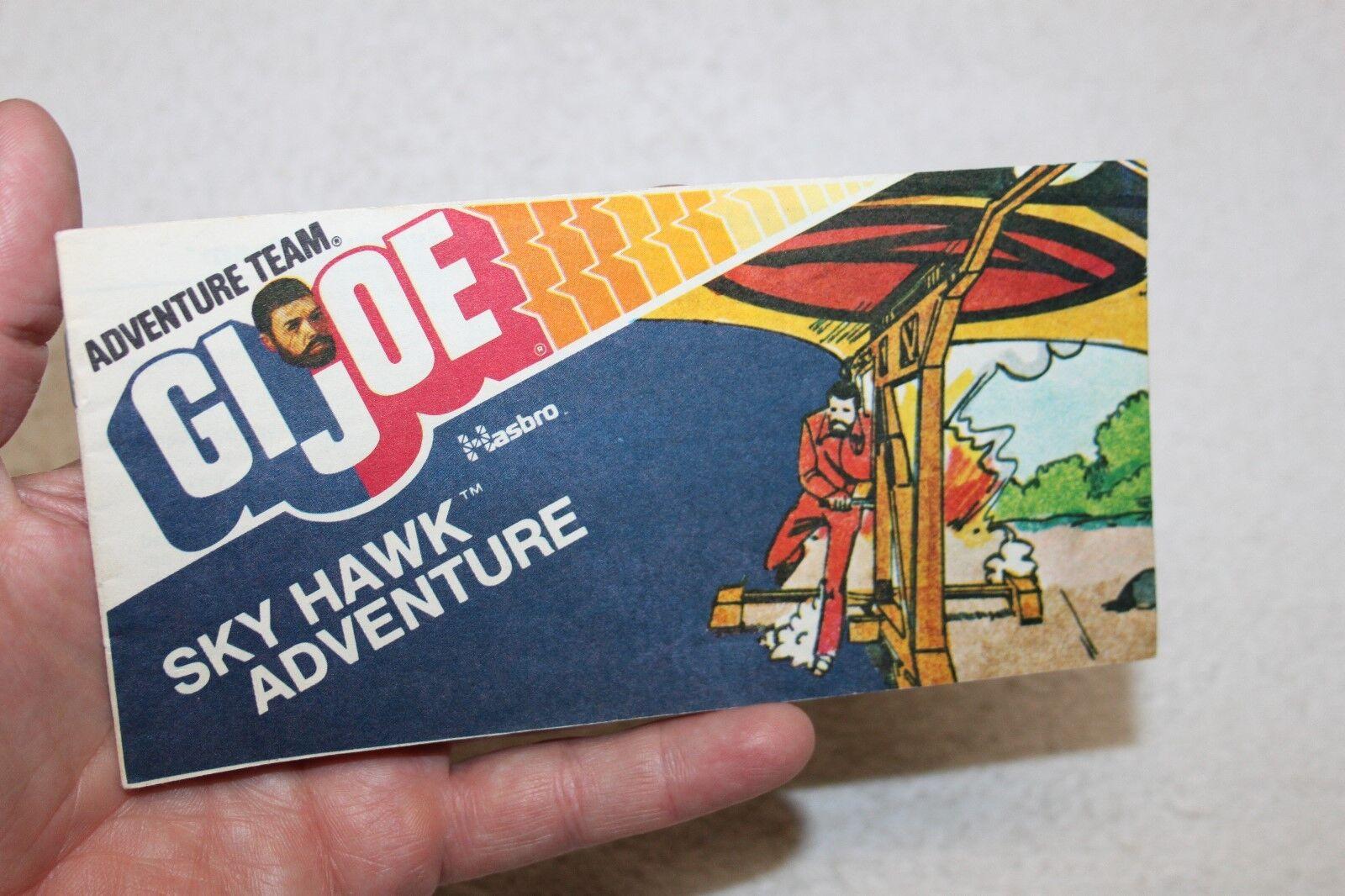 Vintage GI Joe Adventure Team - Sky Hawk Adventure - Mini Comic (1975)
