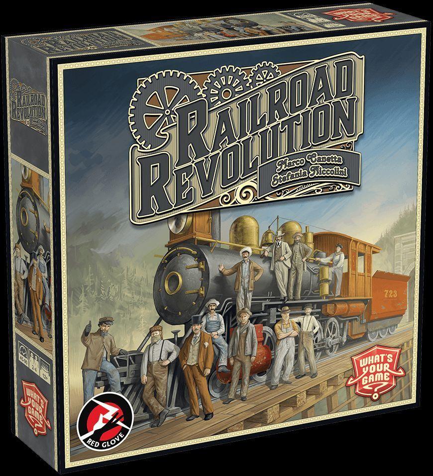Railroad Revolution, Gioco da Tavola, Nuovo by Red Red Red Glove, Edizione Italiana cc3be0