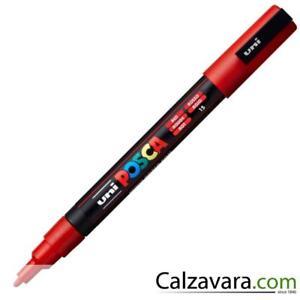 Uni-Ball - Marcatore Uni Posca Punta Fine 0-9-1-3mm - ROSSO TNDURfHw-09164323-769858401